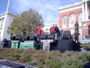 Dropkick at the State House, Red Sox World Series Rally